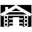 lodge icon white