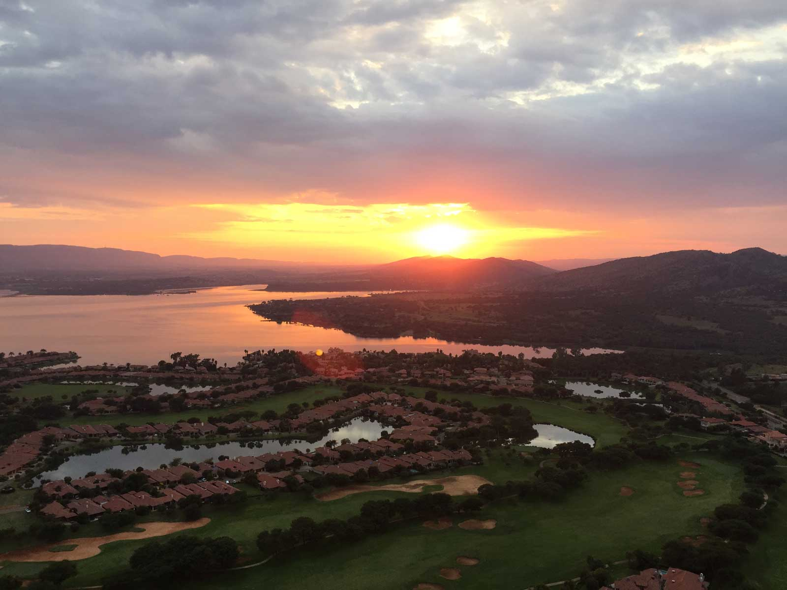Sunrise at Hartbeespoort