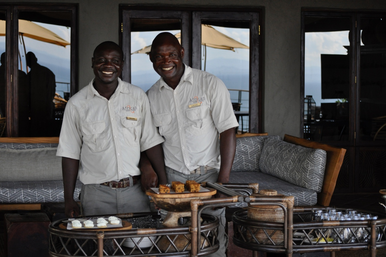 Amazing staff at Bumi Hills Safari Lodge