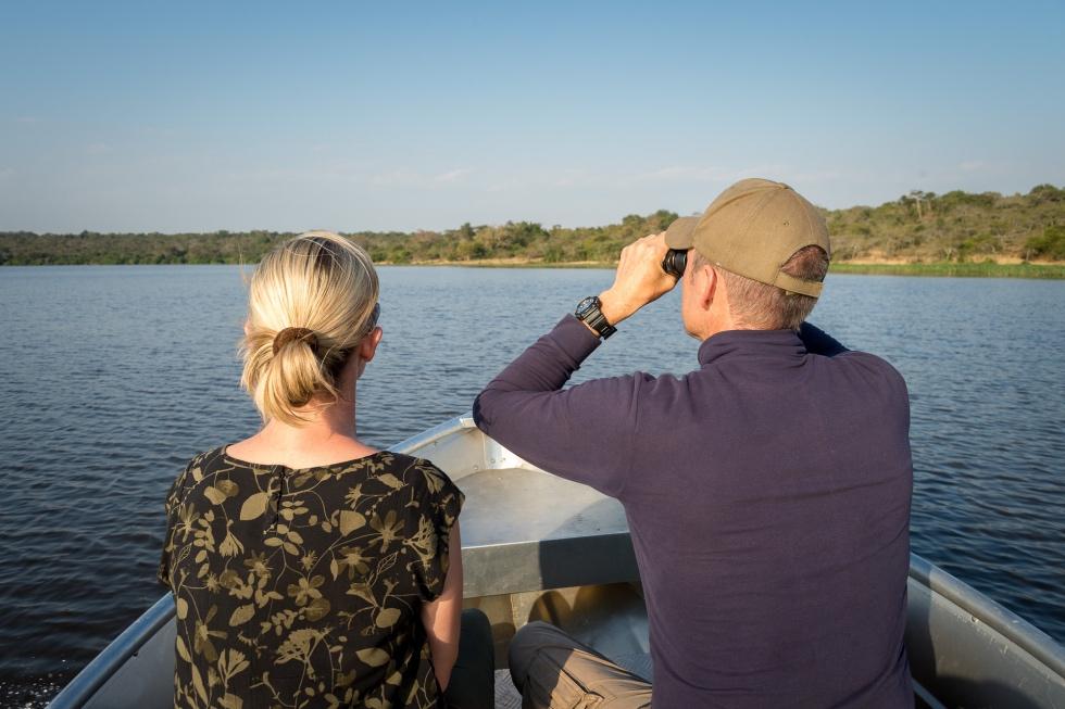 Boat cruises and bird watching at Magashi Camp, Akagera