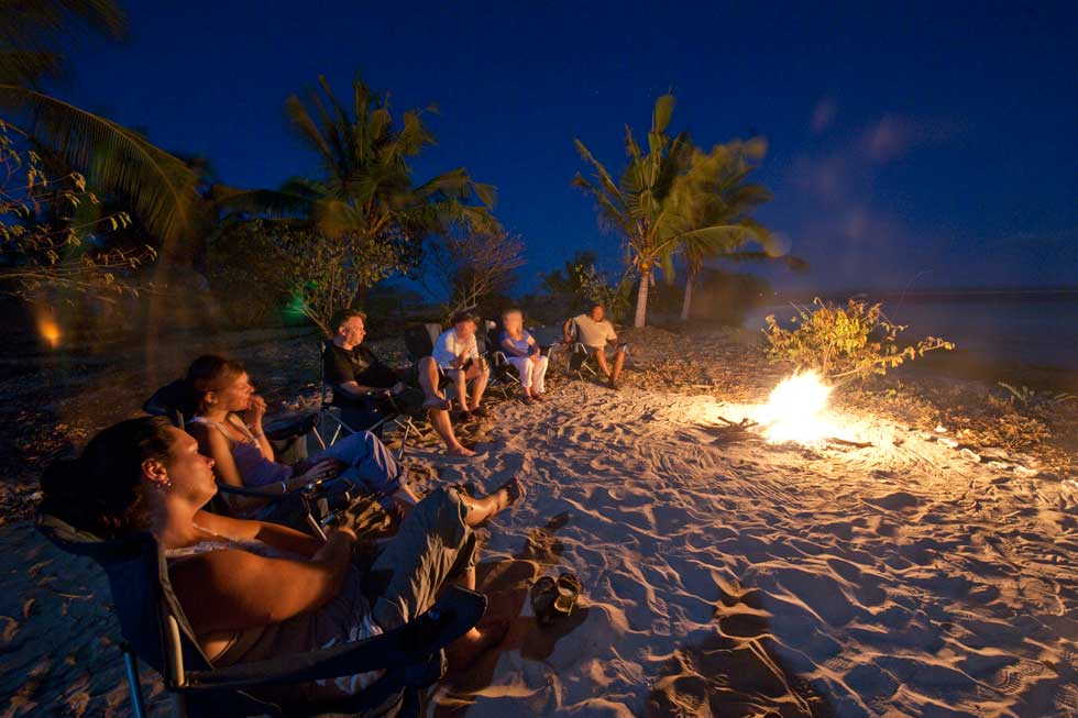 Ibo Island Mobile Dhow Safari campfire