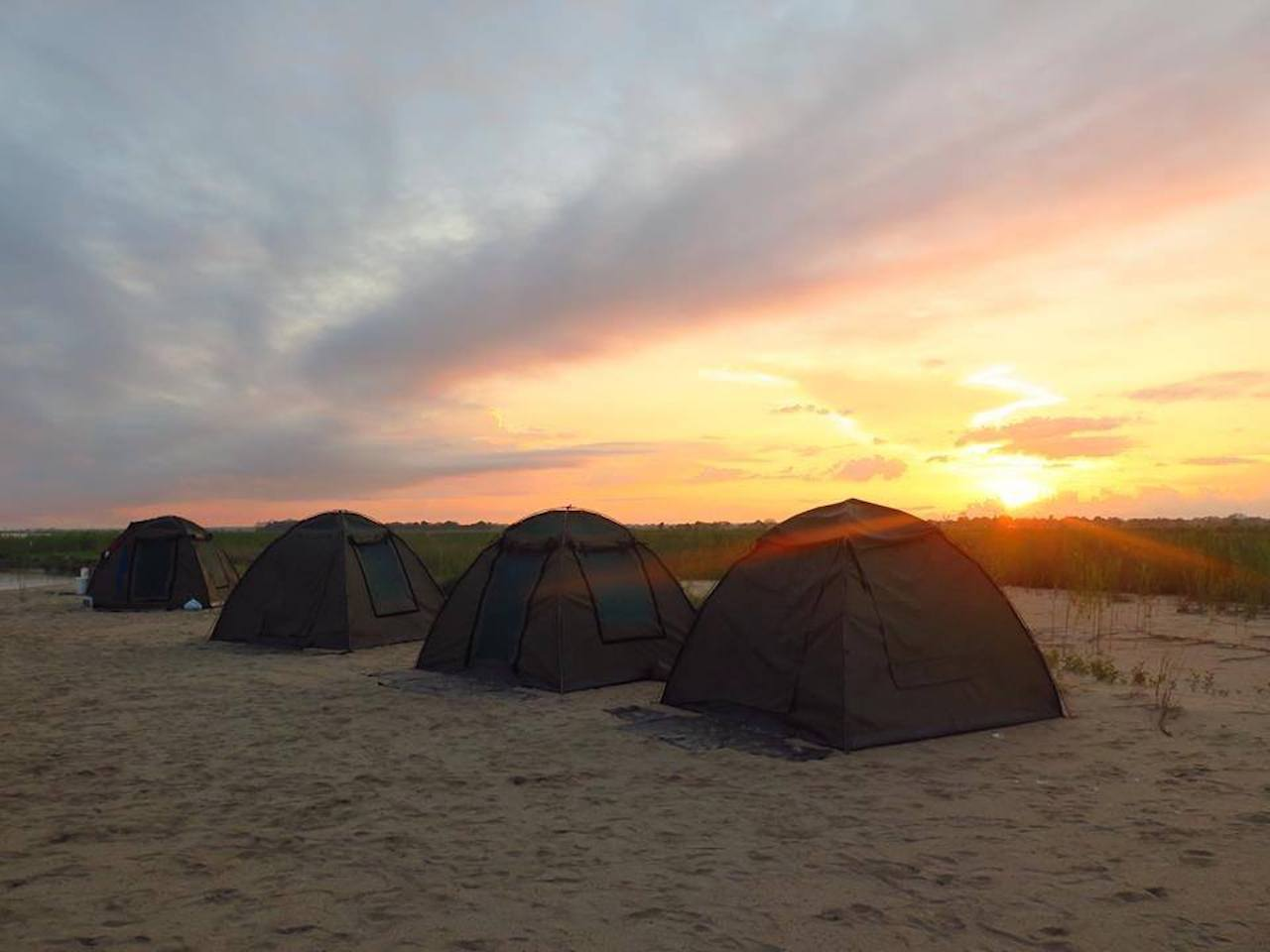 Camping on a solo safari overland tour takes you out of your comfort zone and creates a whole new experience