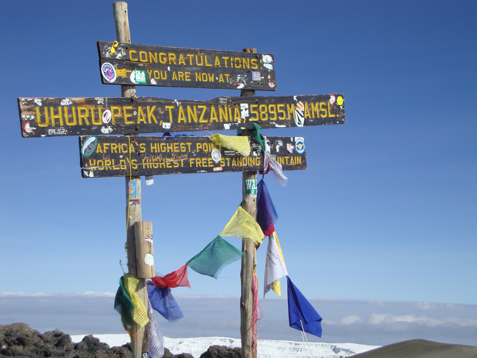 Mount Kilimanjaro active travel in Tanzania