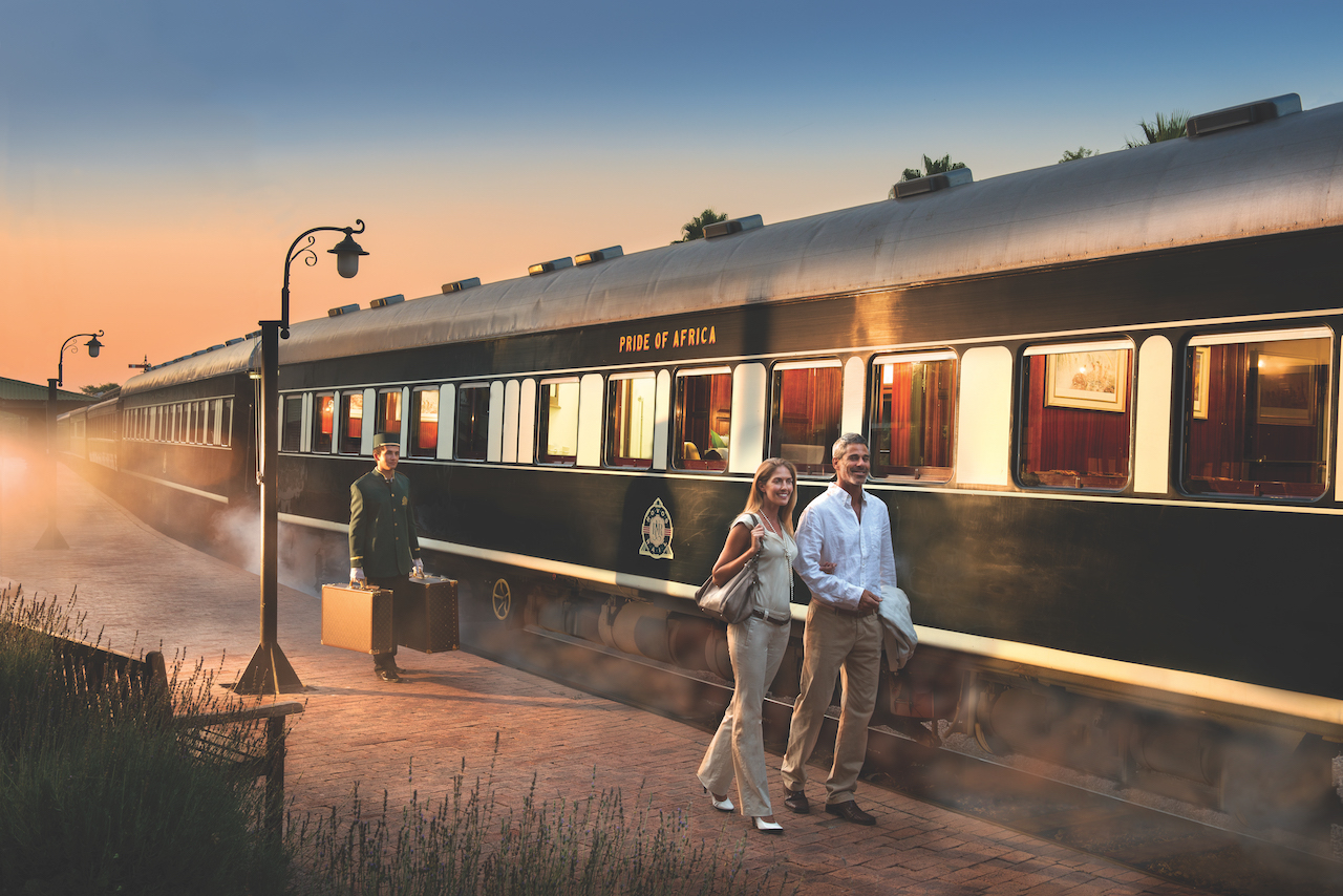 Rovos Rail luxury train travel
