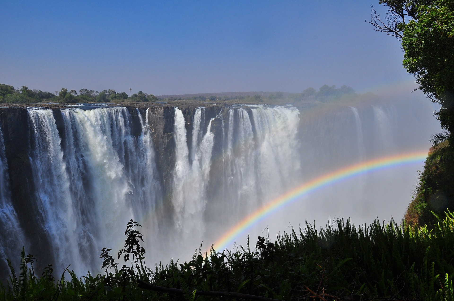 Vic Falls: the Smoke that Thunders